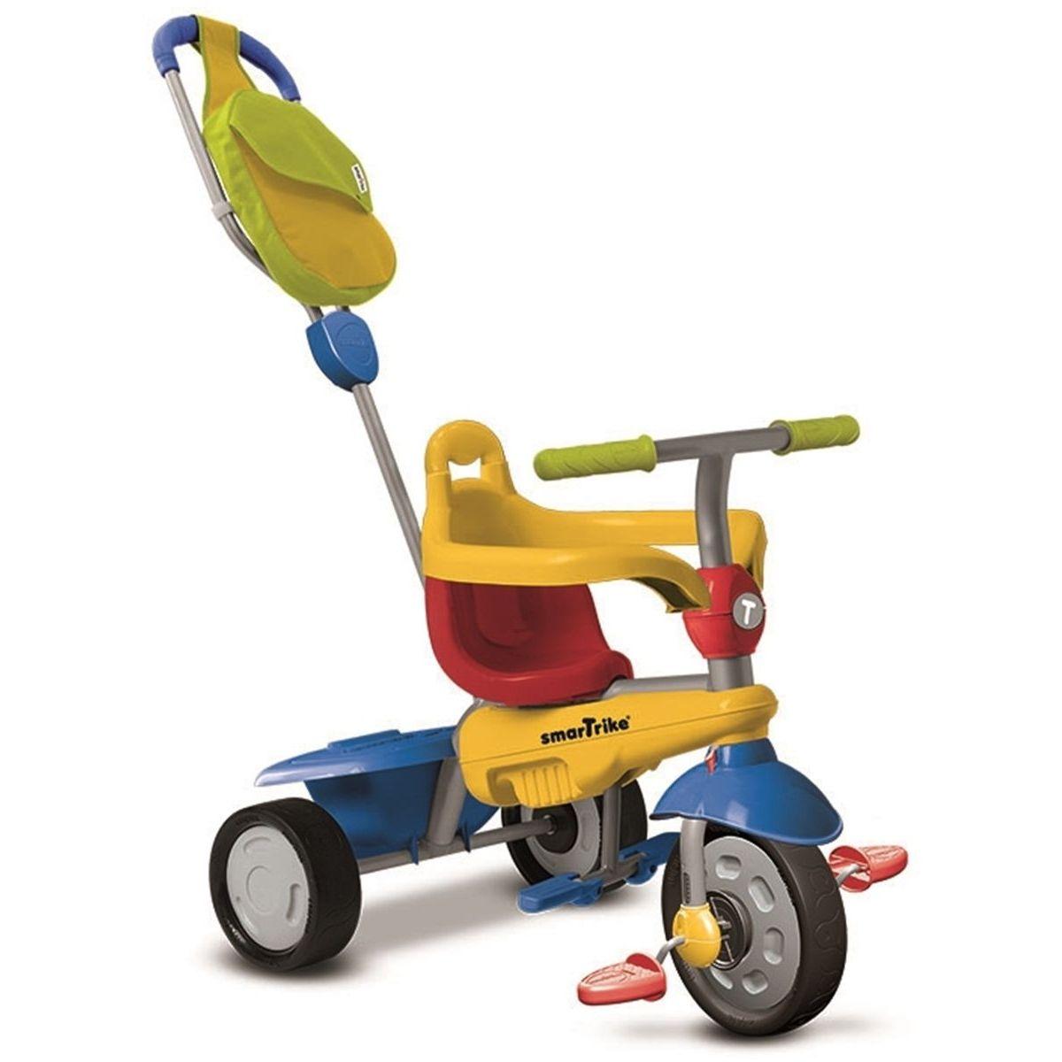 Smart Trike Trojkolka Breeze GL žlto-červeno-modrá