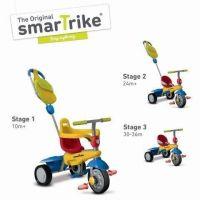 Smart Trike Trojkolka Breeze GL žlto-červeno-modrá 3