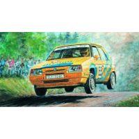 Směr Model auto Škoda Favorit Rallye 96 stavebnica auta 1:28