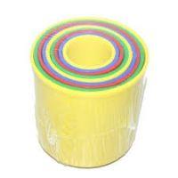 Směr Kubus pyramída guľatá 9ks Pastelové farby 2