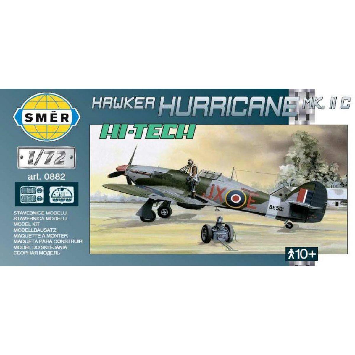 Směr Model Hawker Hurricane Mk.I HI TECH 1:72