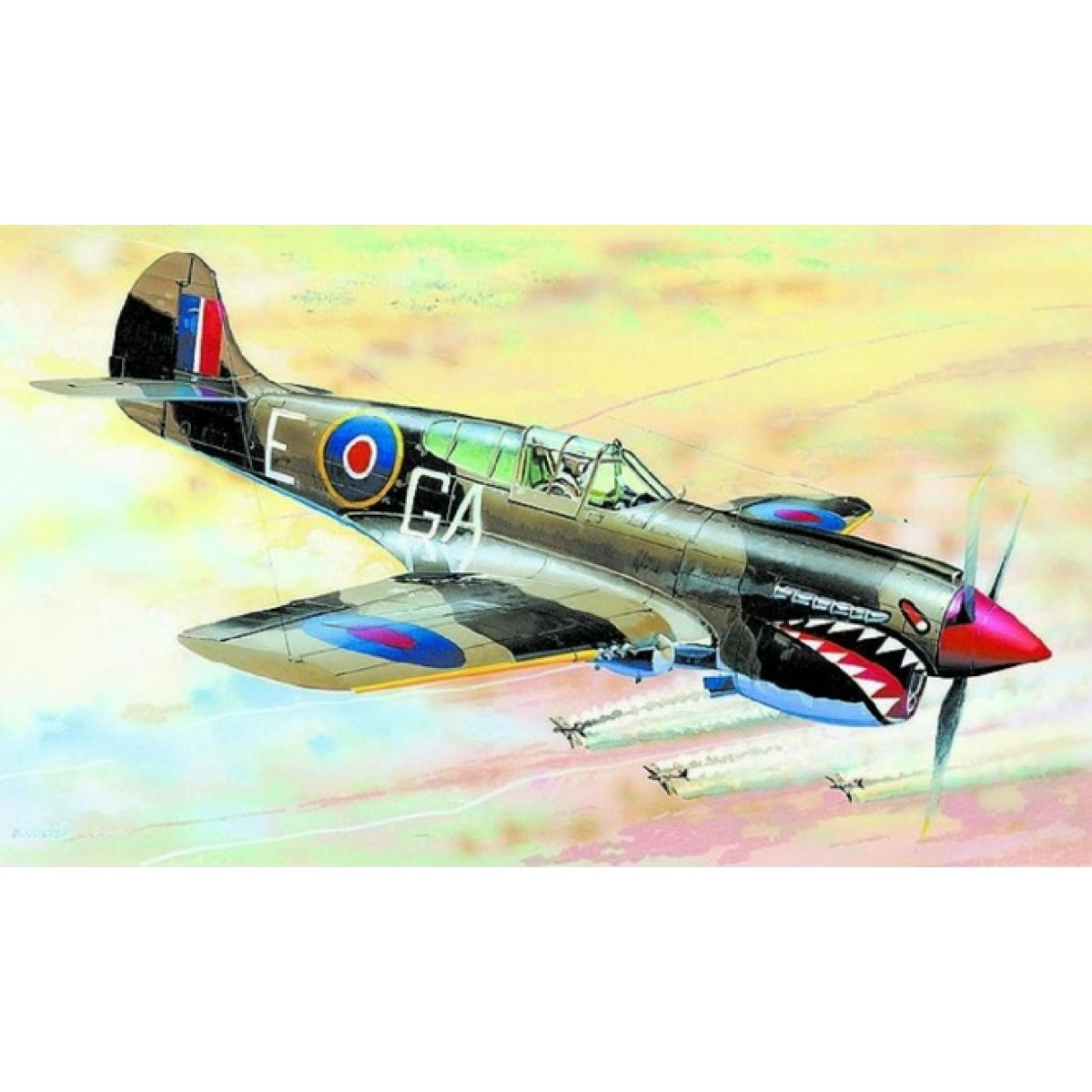 Smer Model Curtiss P-40 K Kittyhawk MK.3