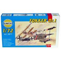 Směr Model lietadlo Fokker Dr.I stavebnice lietadla 1:72
