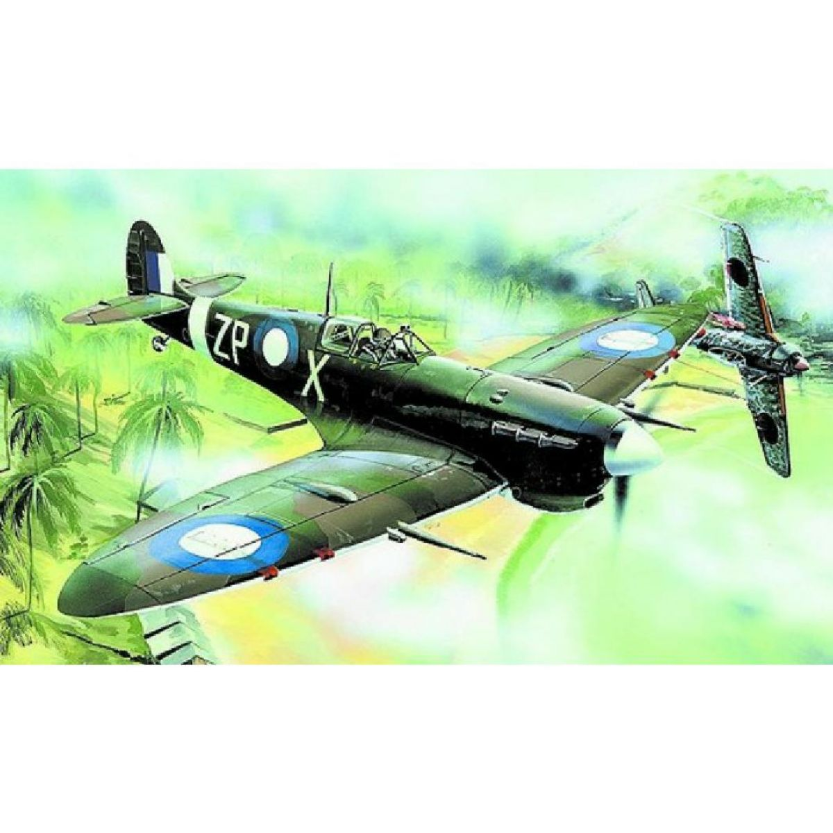 Směr Supermarine Spitfire Modely lietadiel