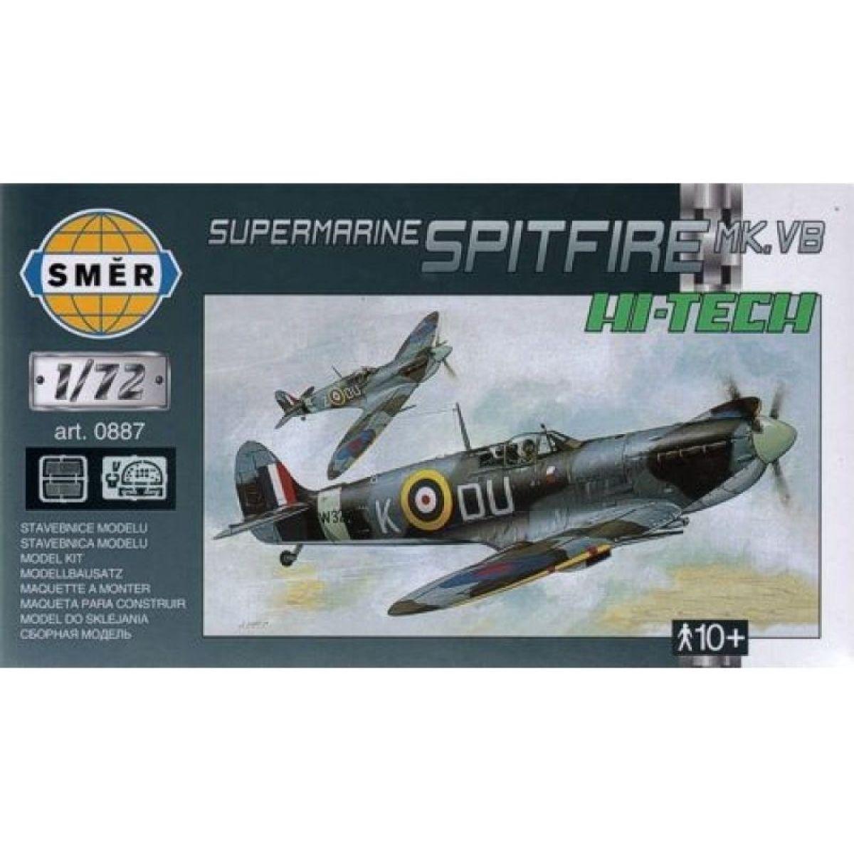 Smer Model Supermarine Spitfire Mk.Vb HI TECH 1:72