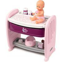 Smoby Baby Nurse 2v1 postieľka prebaľovací pult