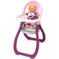 Smoby Baby Nurse Jedálenská stolička pre bábiky