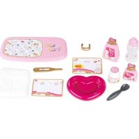 Smoby Prebaľovací set pre bábiku Baby Nurse Zlatá edícia v kufríku 2