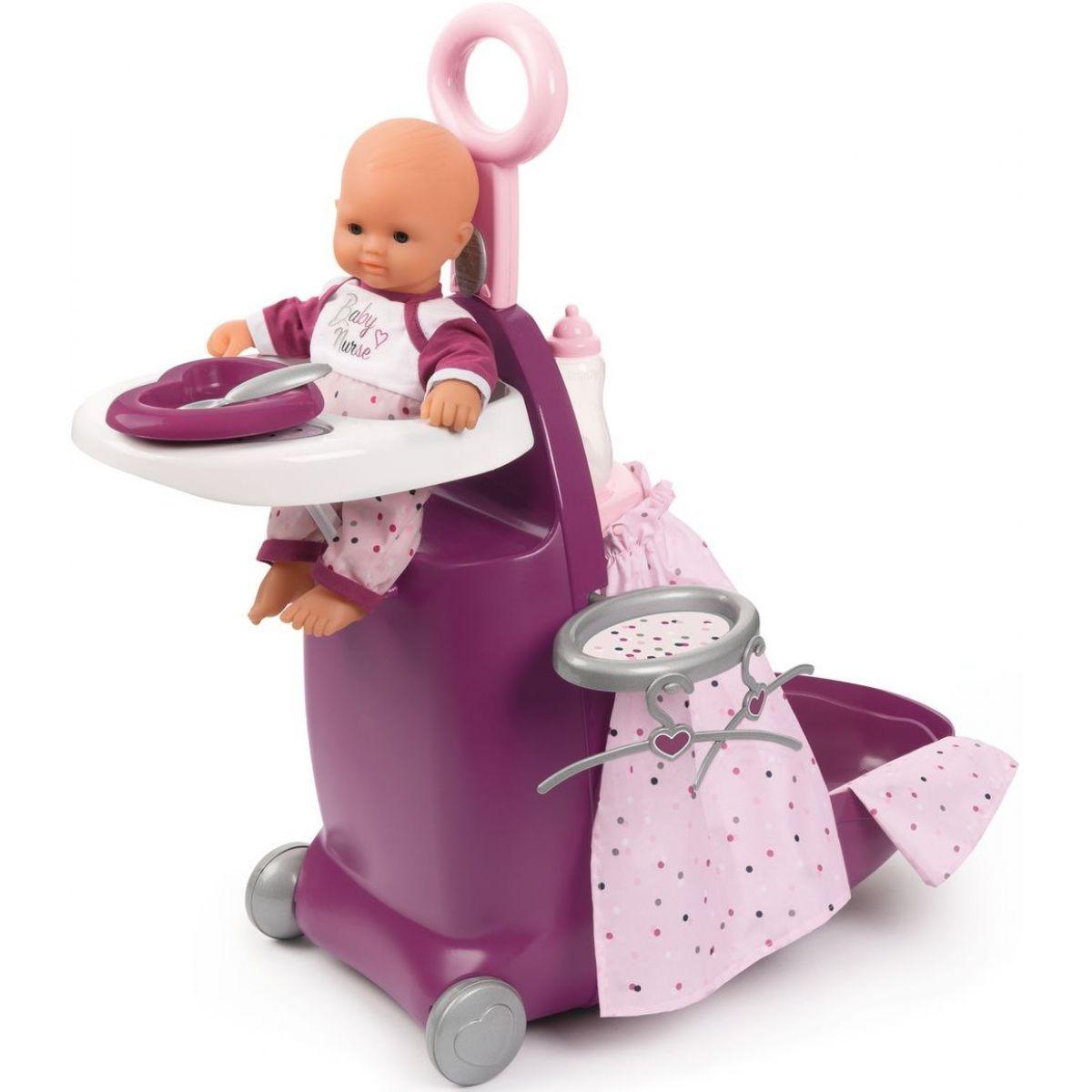 Smoby Baby Nurse Nursery kufrík 3v1