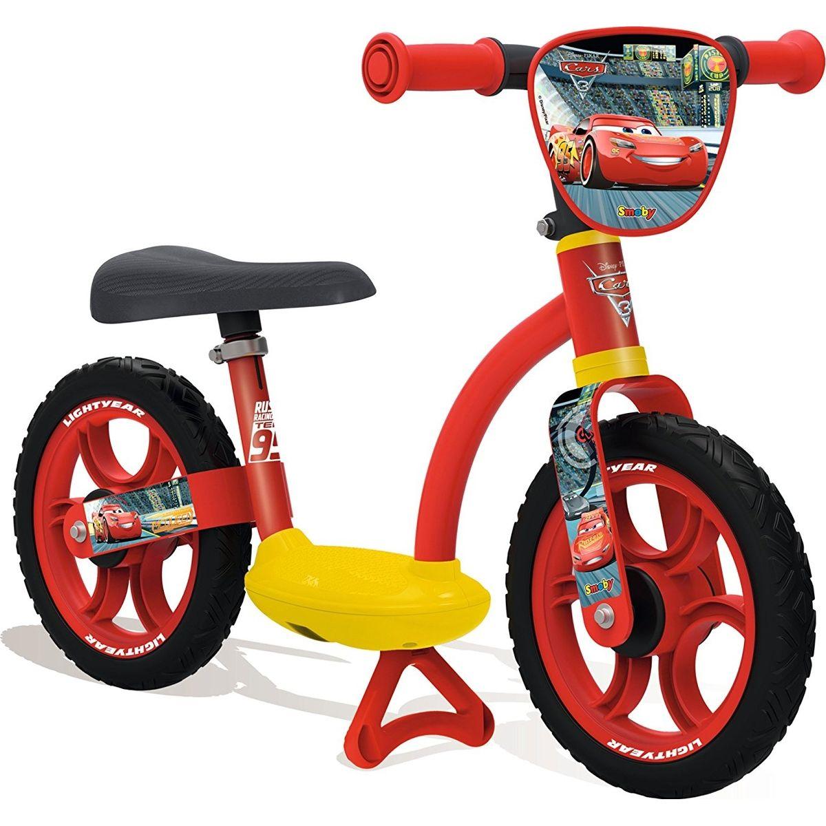 Smoby cyklo so stojanom Cars 3