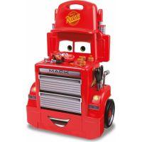 Smoby pracovná dielňa vozík autá Mack Truck červený - Poškodený obal