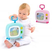 Smoby 211316-1 ružová farebný televízor Cotoons s hudbou pre kojencov 2