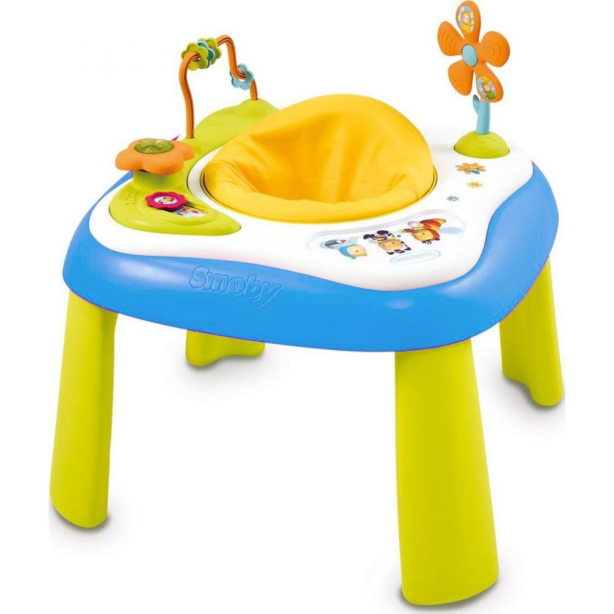 SMOBY 110200 Cotoons youpi didaktický stolík so zvukom a svetlom