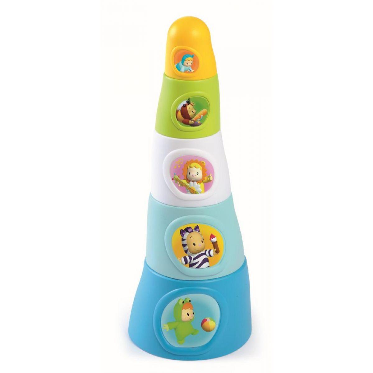 Smoby Cotoons pyramida Happy Tower 15*11 cm