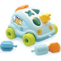 Smoby autíčko Cotoons s kockami 211323 modré