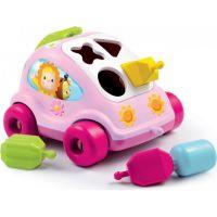 Smoby autíčko Chrobáčik Cotoons pre najmenších 211118 ružové