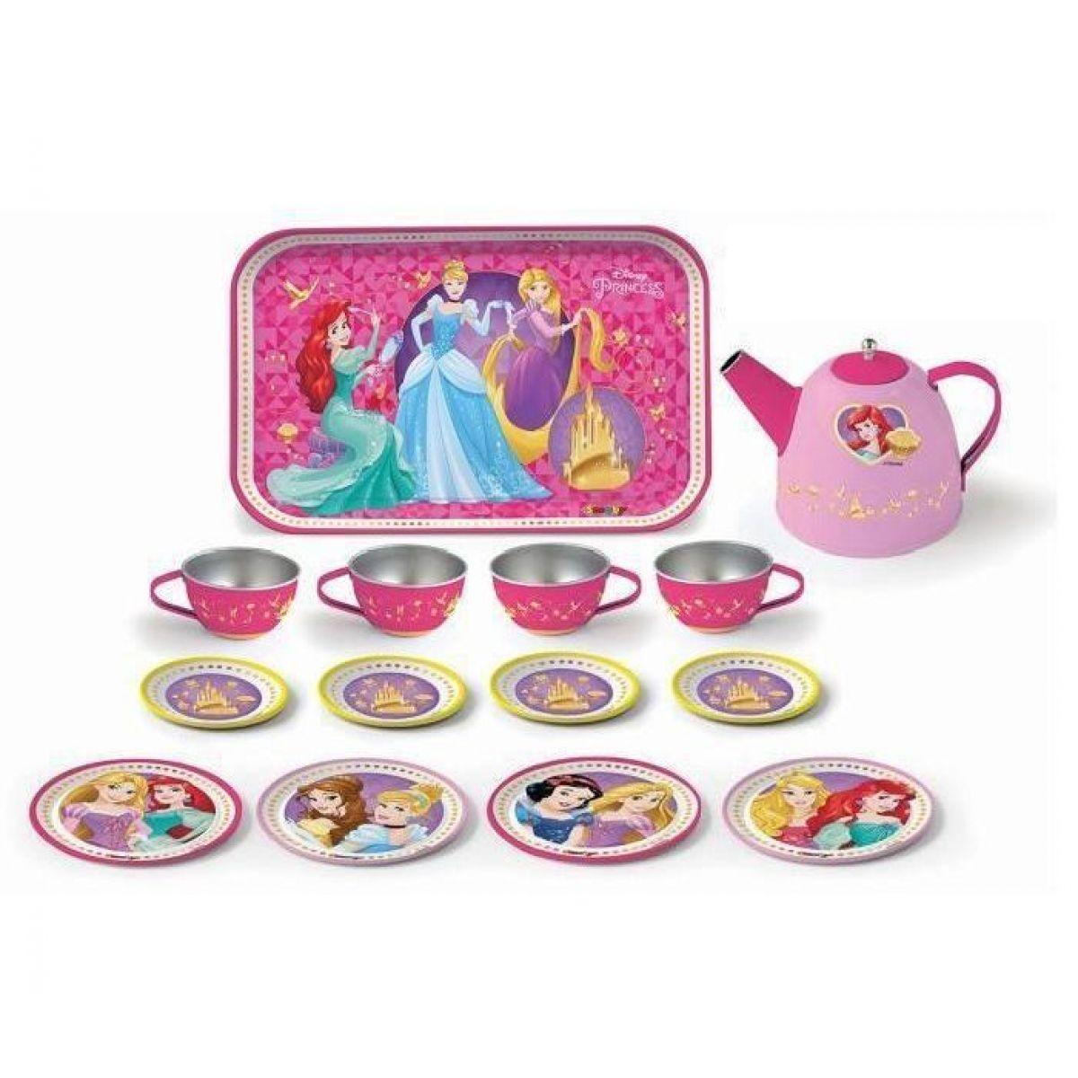 Smoby Disney Princess Čajový set kovový