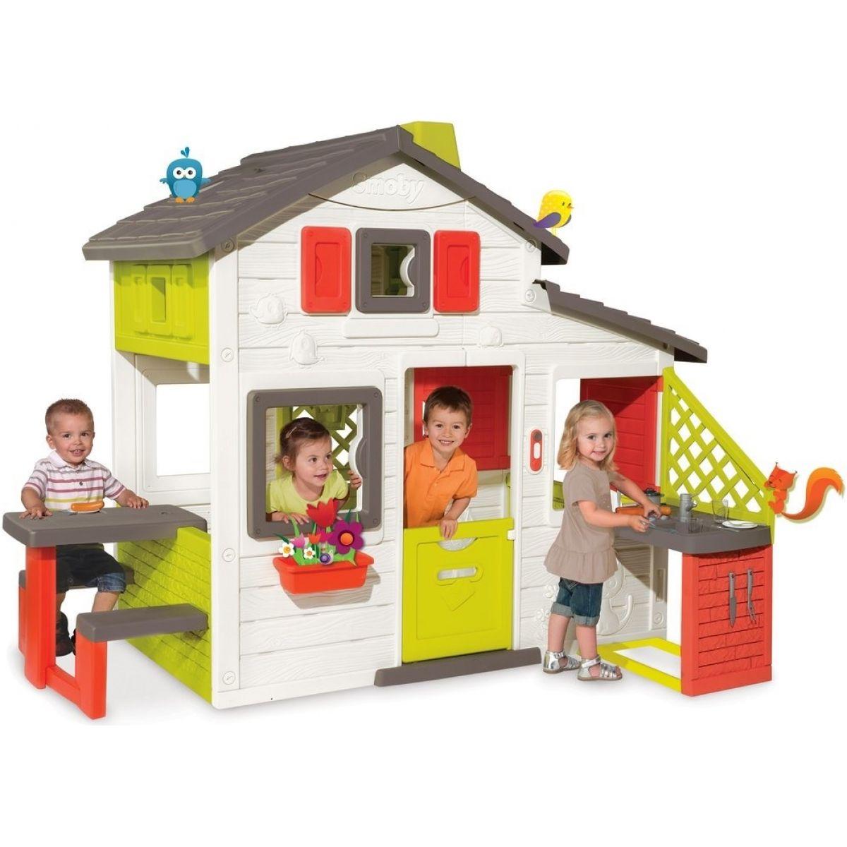 Smoby Domček Friends House s kuchyňou