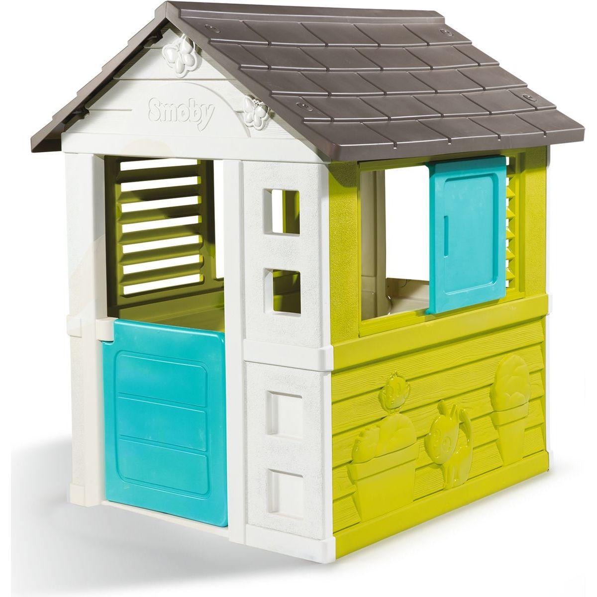 Domček Pretty modrozelený