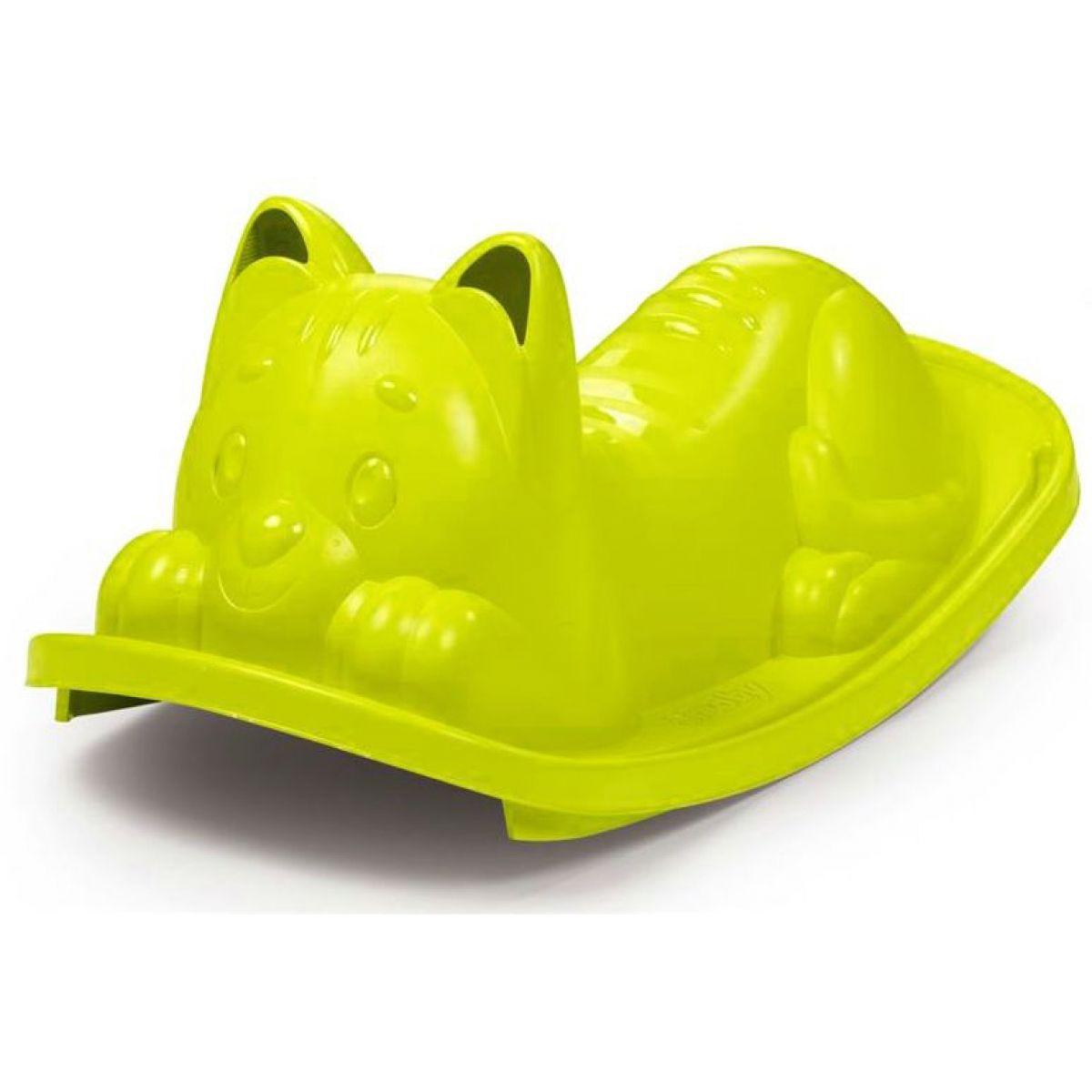 Smoby Hojdačka Mačička zelená