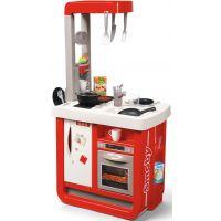 Smoby Kuchynka Bon Appetit červenobiela elektronická