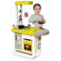 Smoby Kuchynka Bon Appetit Cherry zeleno-šedá elektronická 3