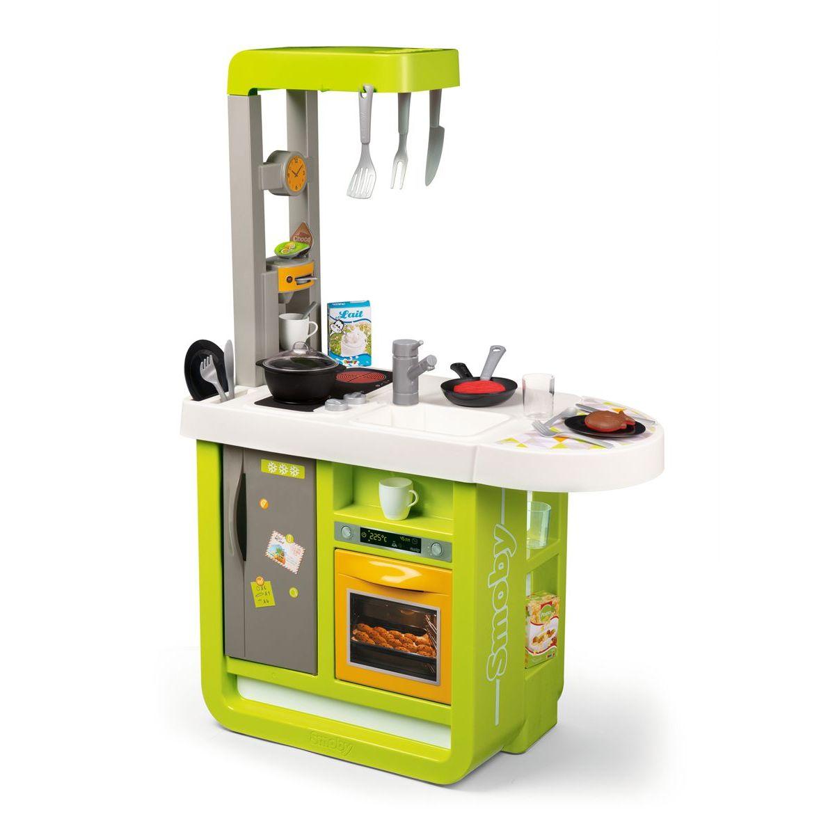 Smoby Kuchynka Bon Appetit Cherry zeleno-žltá elektronická