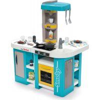 Smoby Kuchyňka Tefal Studio XL Bubble modro-žlutá elektronická