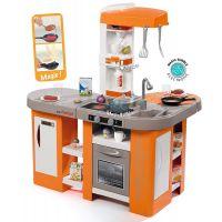 Smoby Kuchynka Tefal Studio XL Bubble oranžovo-šedá elektronická 3