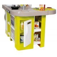 Smoby Kuchynka Tefal Studio XL zeleno-šedá elektronická 4