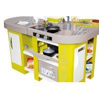 Smoby Kuchynka Tefal Studio XL zeleno-šedá elektronická 6
