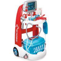 Smoby Lékařský elektronický vozík s příslušenstvím 340202