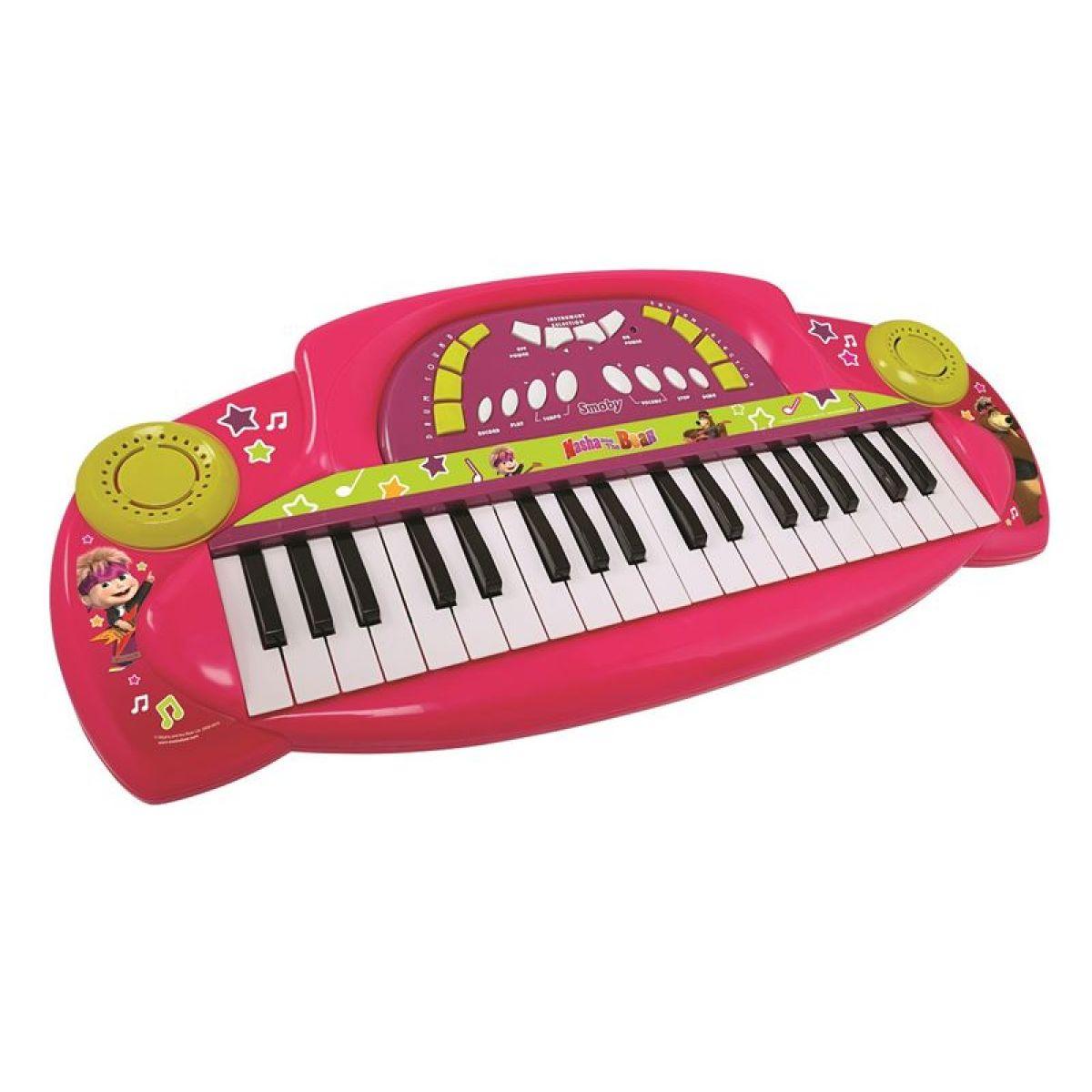 SMOBY Máša a medveď Klavír elektronický