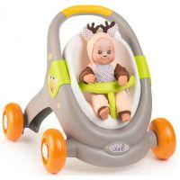 Smoby Minikiss Baby Walker 3v1 zvieratko