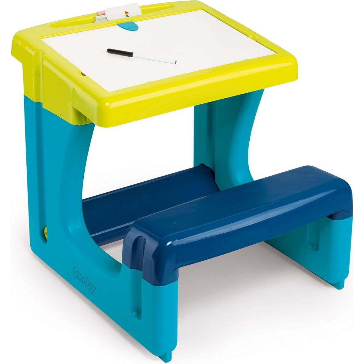 Smoby školská lavica s tabuľou modrá