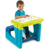 Smoby školská lavica s tabuľou modrá 2