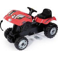 Smoby Šliapací traktor Farmer XL červený s vozíkom 5