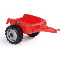 Smoby Šliapací traktor Farmer XL červený s vozíkom 6
