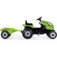 Smoby Šliapací traktor Farmer XL zelený s vozíkom 2