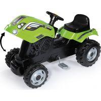 Smoby Šliapací traktor Farmer XL zelený s vozíkom 4