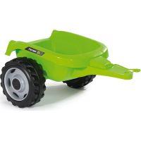 Smoby Šliapací traktor Farmer XL zelený s vozíkom 5