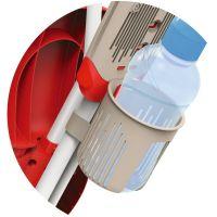 SMOBY 434208 červená trojkolka Baby Driver Confort - Poškozen obal 5