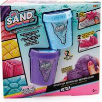 So Sand kouzelný písek 2pack fialový s modrým
