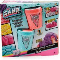 So Sand kouzelný písek 2pack zelený s oranžovým