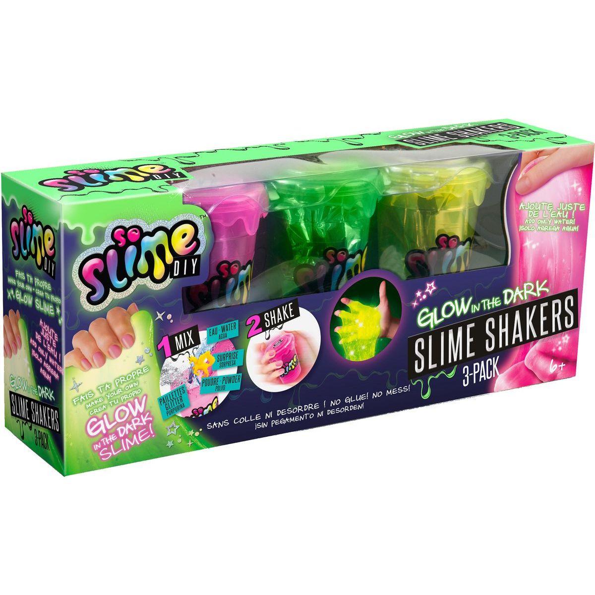So Slime 3 pack svietiaci v tme - Poškodený obal