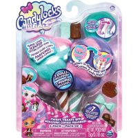 Spin Master Candylocks Cukrové panenky s vůní dvojbalení čokoládový nanuk