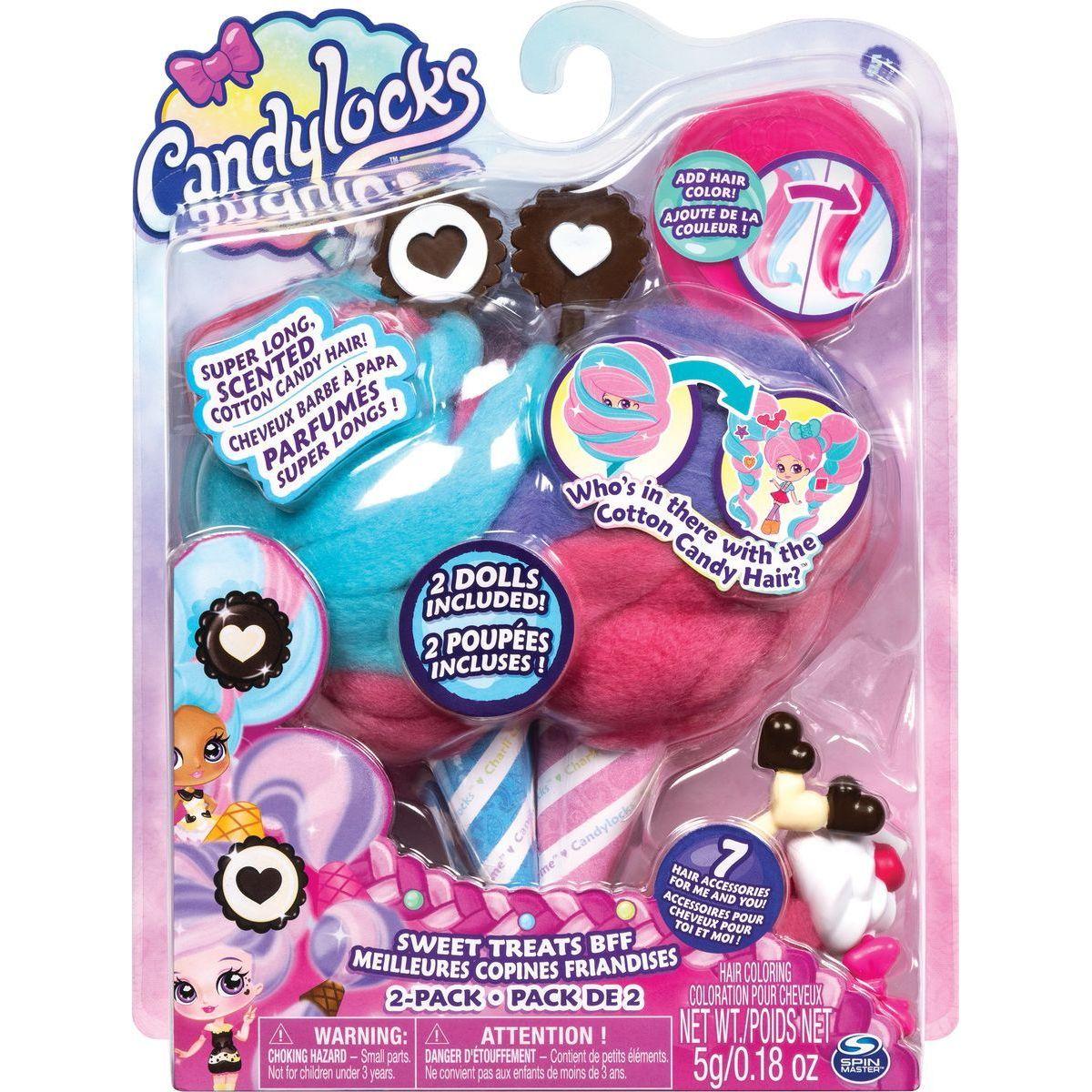 Spin Master Candylocks Cukrové panenky s vůní dvojbalení čokoládové 20114330