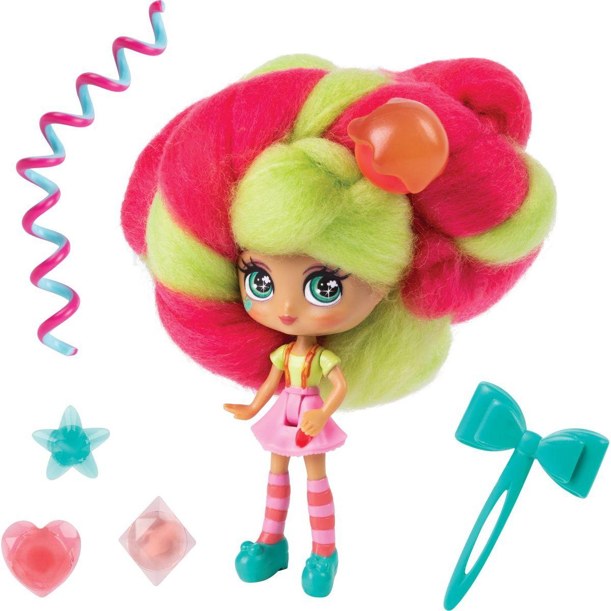 Spin Master Candylocks Cukrové panenky s vůní sv.zelená s tm.růžovou