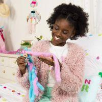 Spin Master Candylocks Cukrové panenky s vůní fialová s modrou 3