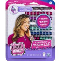 Spin Master Cool Maker náhradné nite pre náramkovač bordó-fialová-biela